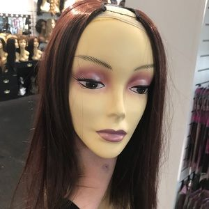 Accessories - Wig partial chocolate not a full wig Blende in wig